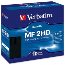 Дискеты 3.5 Verbatim MF 2HD, 1.44Mb, 10шт