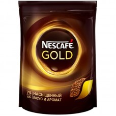 "Кофе растворимый Nescafe ""Gold"", 150г, мягкая упак."