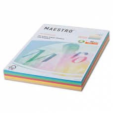 "Бумага ""Maestro Color Pastell Mixed Packs"" А4, 80г/м2, 250л. (5 цветов)"