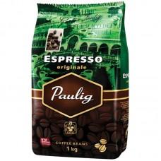 """Кофе в зернах Paulig """"Espresso Original"""", вакуумный пакет, 1кг"""