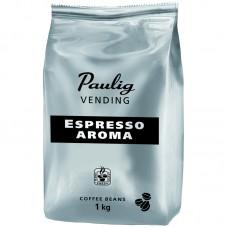 """Кофе в зернах Paulig """"Vending Espresso Aroma"""", вакуумный пакет, 1кг"""